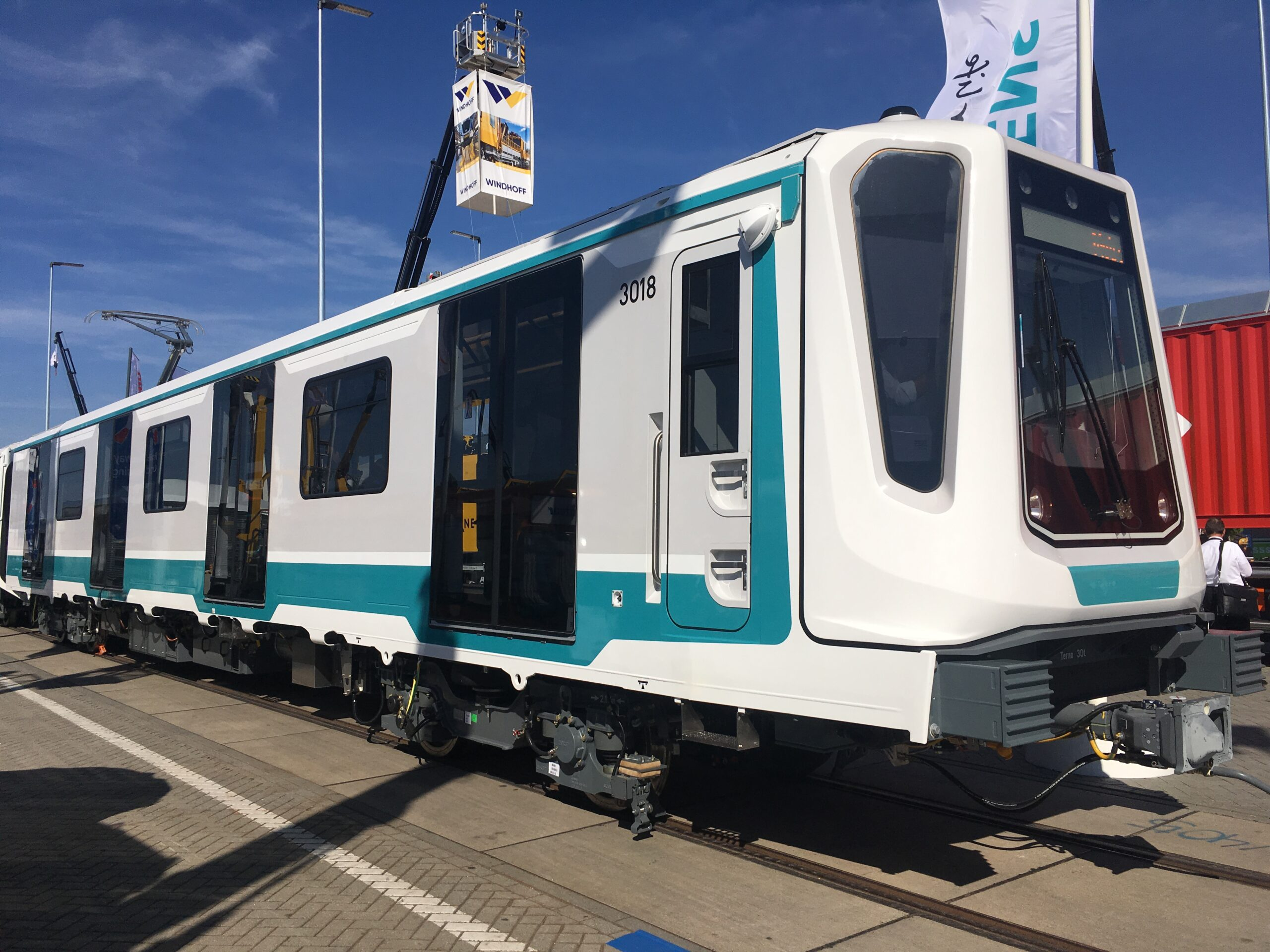 Siemens metro Inspiro for Sofia