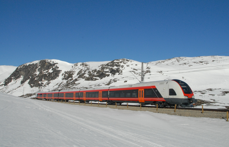 A Norske tog AG train