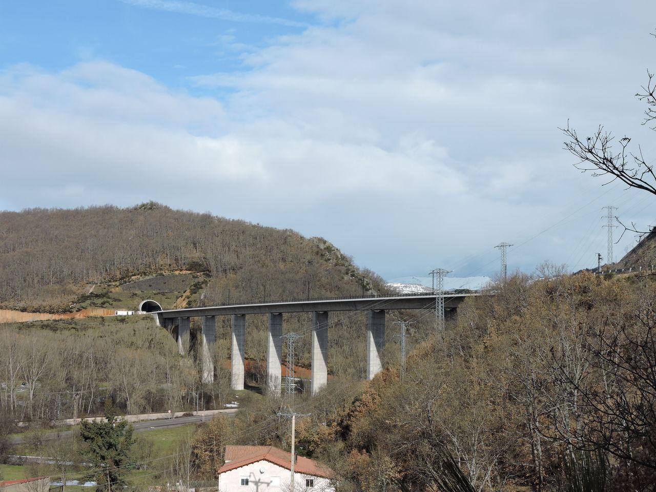 Tunnel on the León-Asturias high-speed line