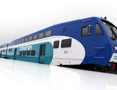Bombardier to Supply BiLevel Cars for Coaster Service