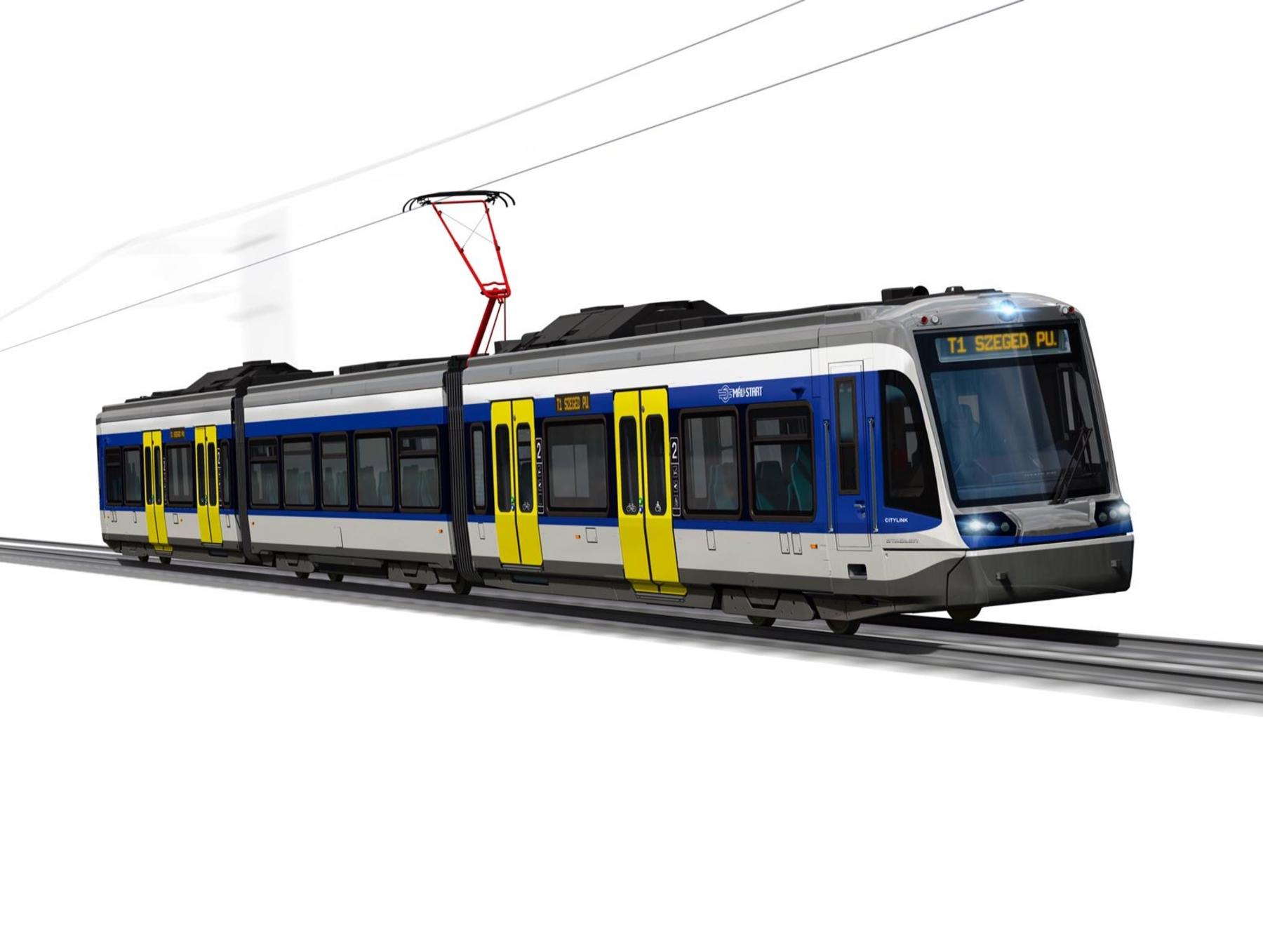 Stadler CITYLINK tram-train for Mav-Start
