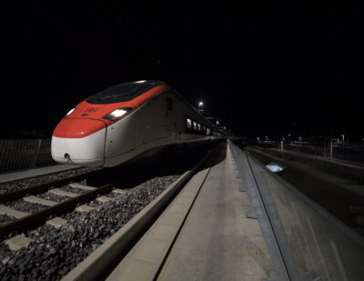 SBB Receives Authorisation for Ceneri Base Tunnel Trial Operations