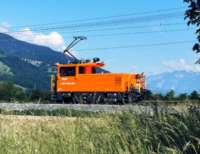 First Battery Electric Shunter in Operation for Rhaetian Railway