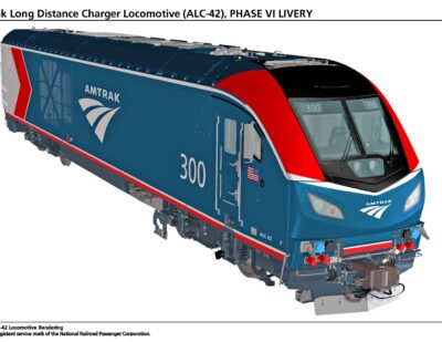 Amtrak Reveals Renderings of New Siemens Locomotives