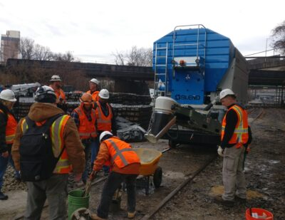 BLEND On-site concrete production for track maintenance 10