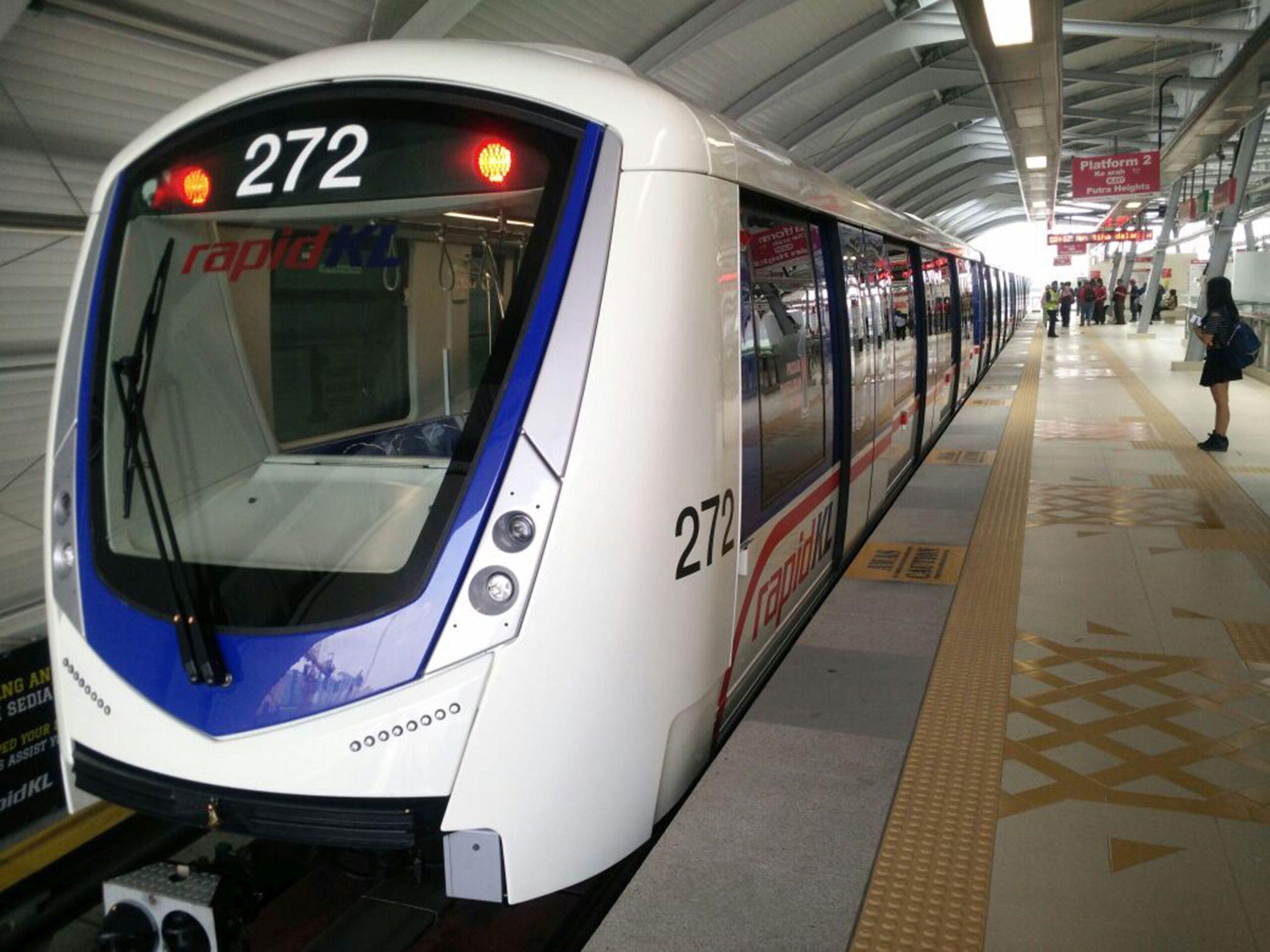 Bombardier INNOVIA Metro 300 for Kuala Lumpur