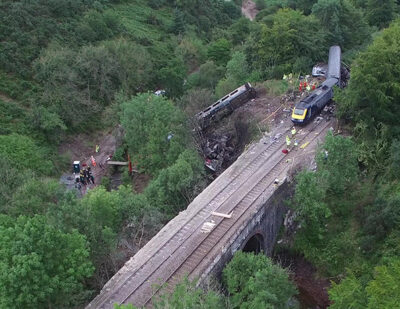 RAIB Publishes Stonehaven Derailment Update