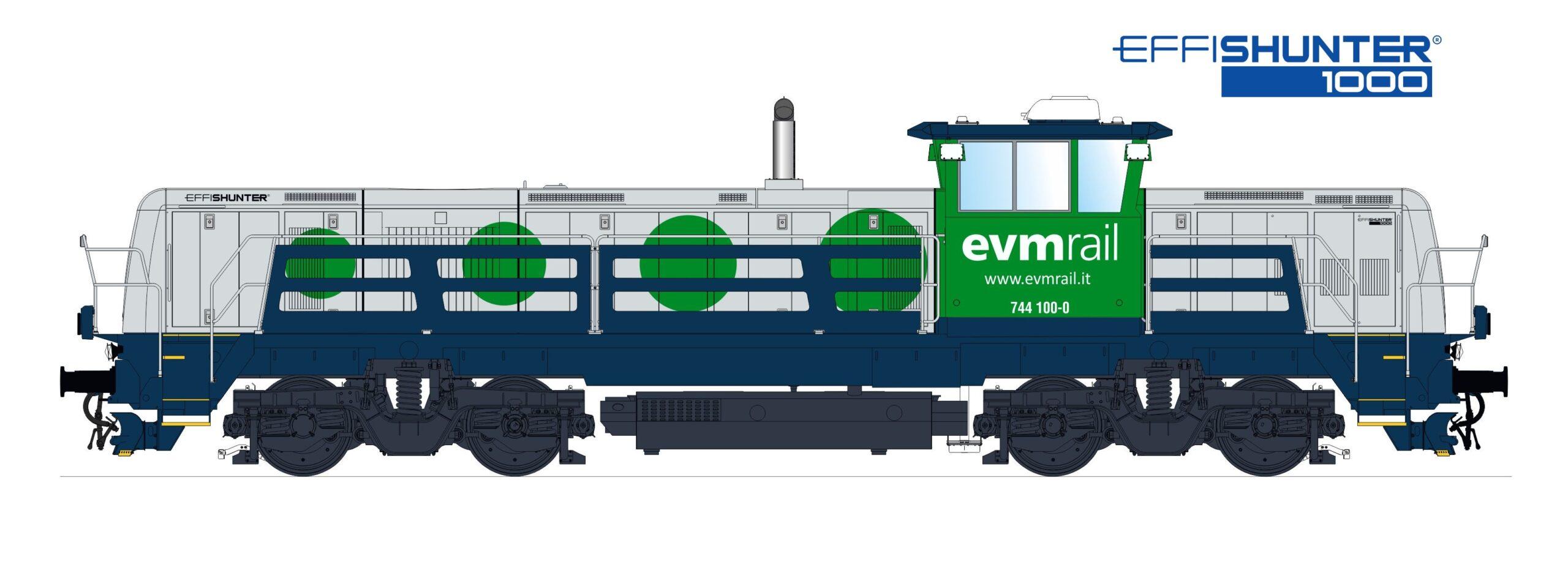 CZ Loko EffiShunter 1000 for EVM Rail