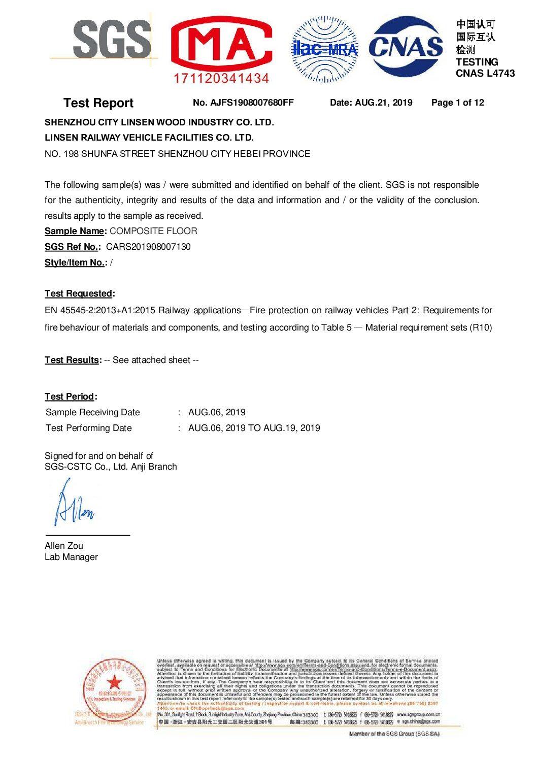 Linsen Testing Report