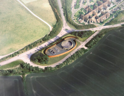 HS2 Presents Amersham Vent Shaft Headhouse Design