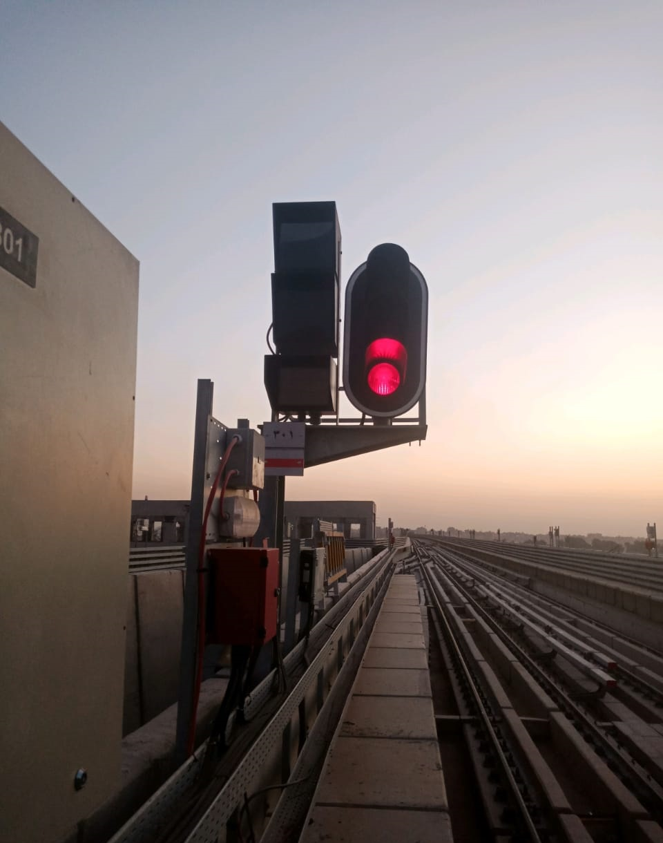 Cairo metro line 3 phase 4 signal