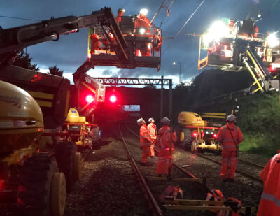 West Coast Main Line Gets £3.4m Electrification Upgrade