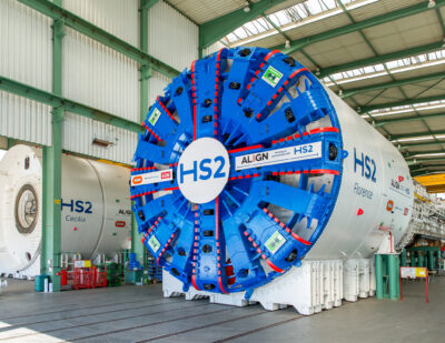 HS2 Reveals First Images of Chiltern Tunnel TBMs