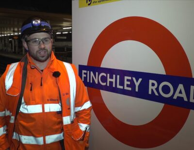 50% Complete – Baker Street to Finchley Road London Underground