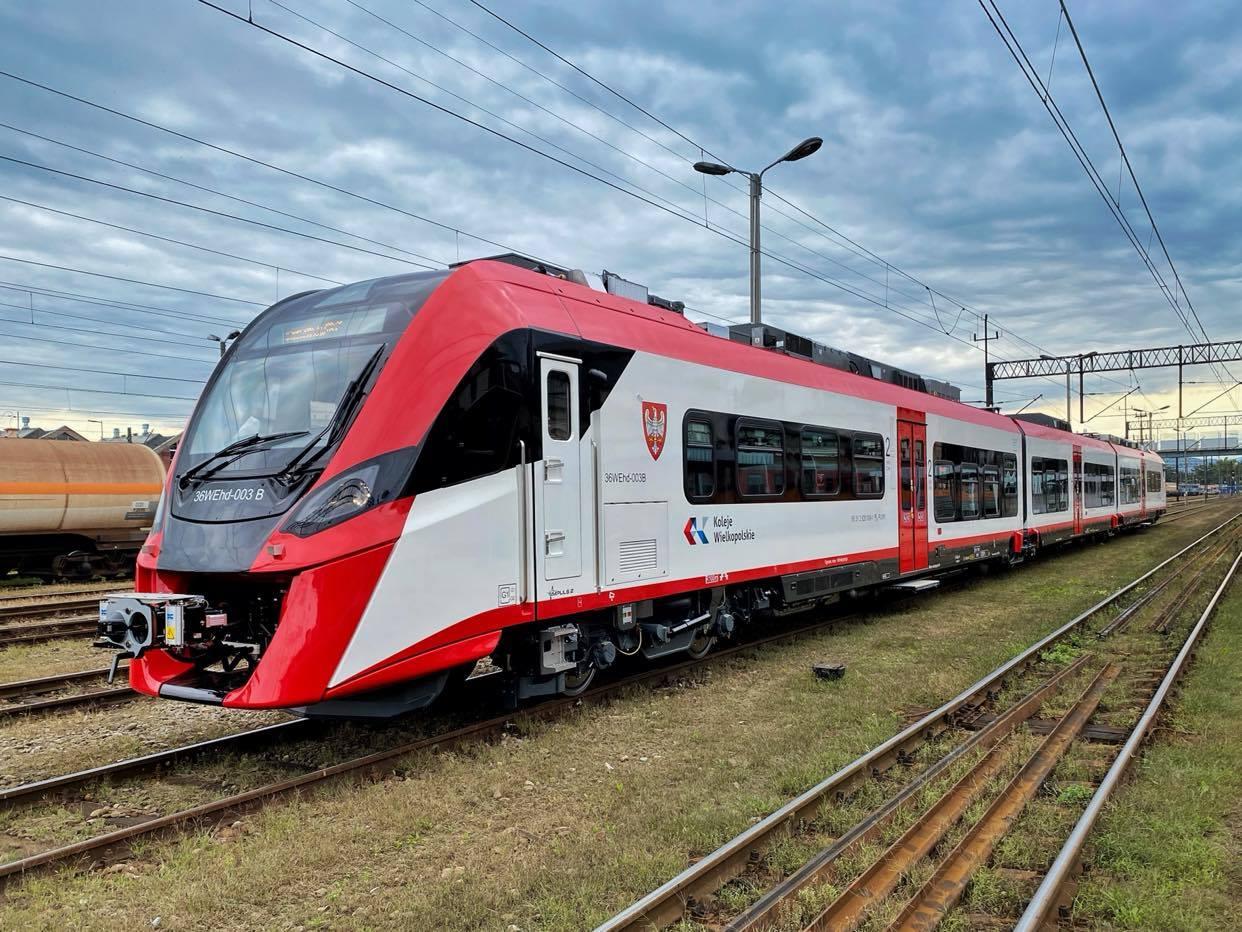 Newag DMU for Koleje Wielkopolskie