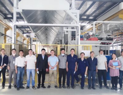 BMT Drive Solutions: Driving up the Heat in China Plant