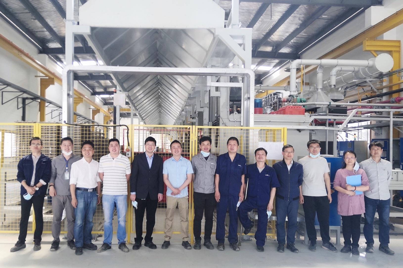 BMT-heat-treatment-Changzhou-team