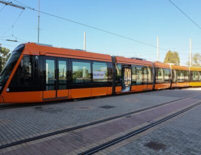 Alstom Delivers First 2 Citadis X05 Trams to Athens