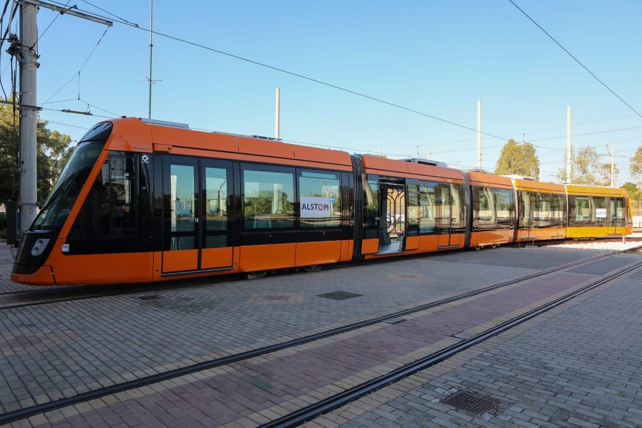 Alstom Citadis tram for Athens