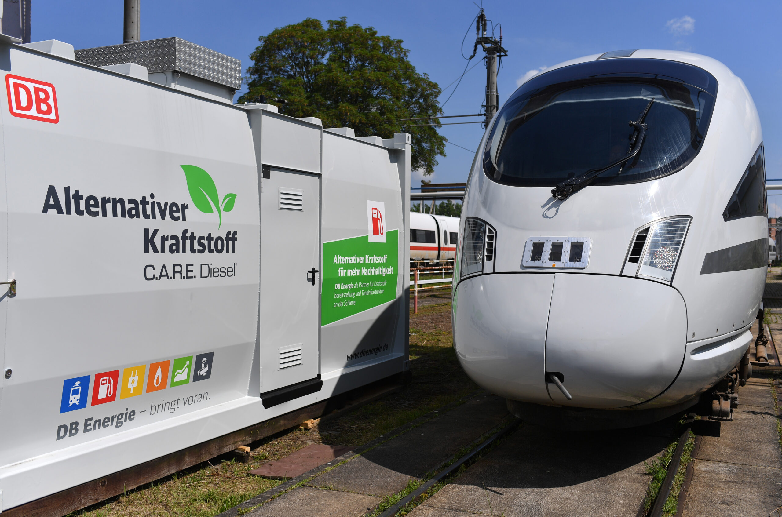 DB to eliminate diesel fuel in its vehicles by 2050