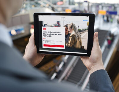 DB Launches Europe's Largest Rolling Wifi Network