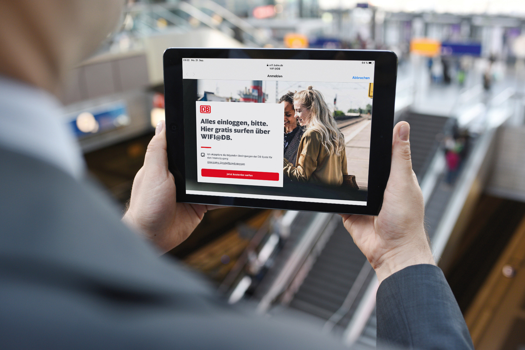 Deutsche Bahn introduces WIFI@DB