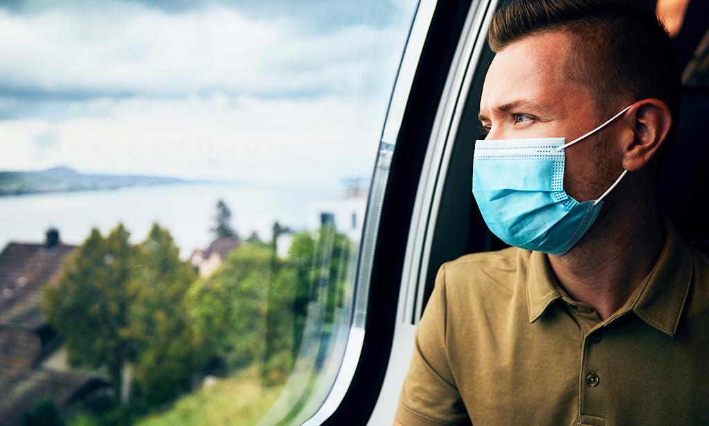 masks on public transport during coronavirus