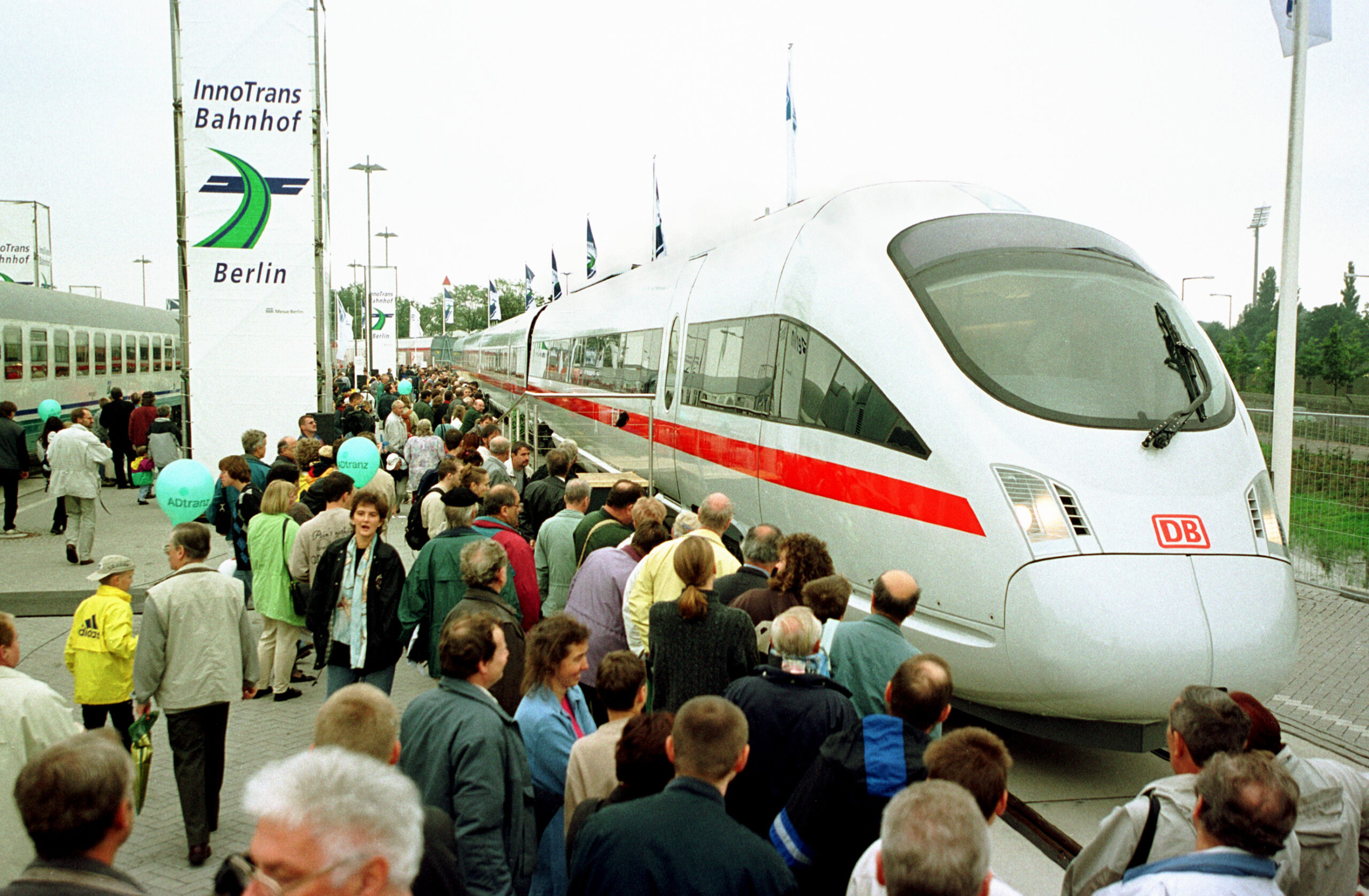 The ICE TD at InnoTrans 2000