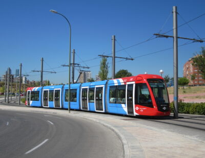 Alstom Performs Digital Track Inspection in Madrid