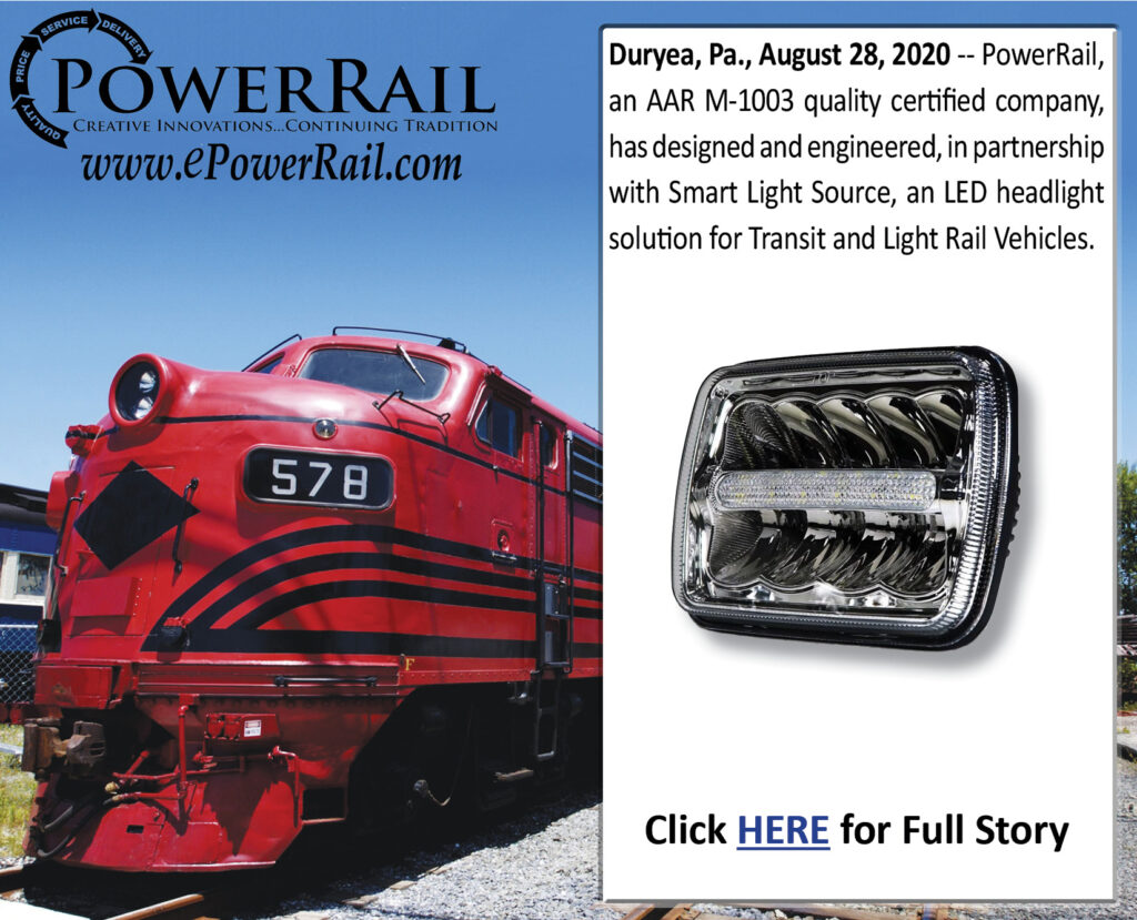 LED Headlight for Transit and LRV