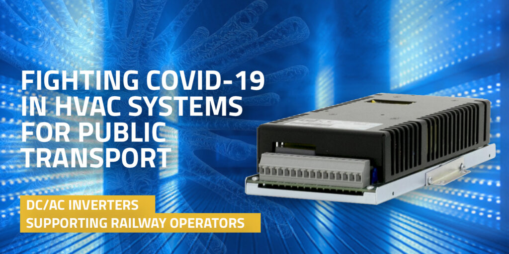 DC/AC Inverters for UV Lights in HVAC Systems