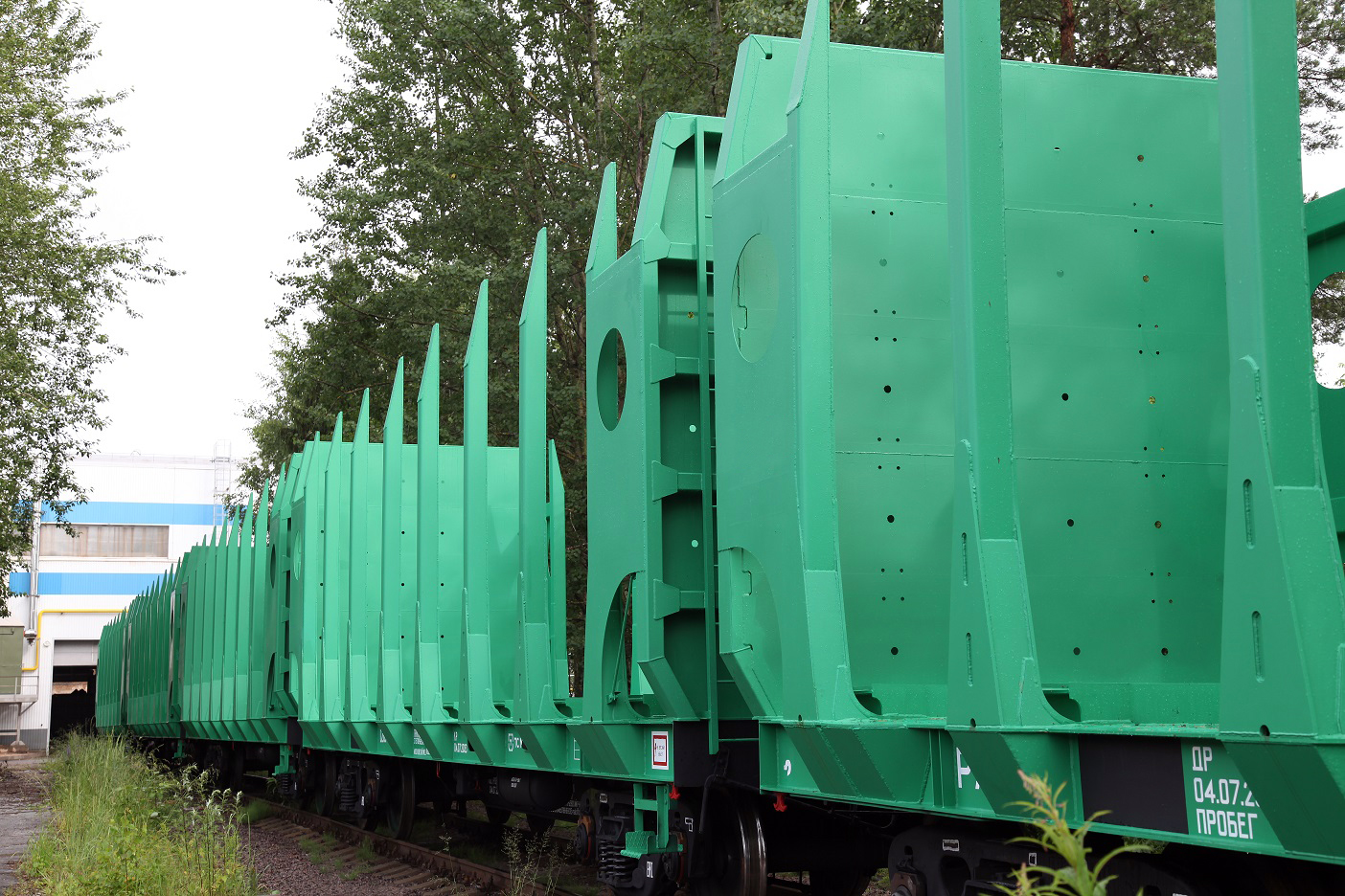 UWC timber flat cars for Arkhbum