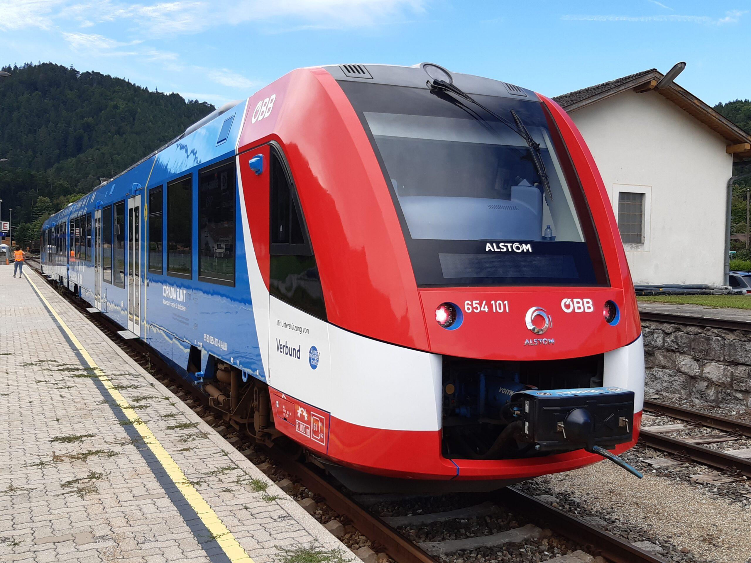 Alstom Coradia iLint for Austria (OEBB)