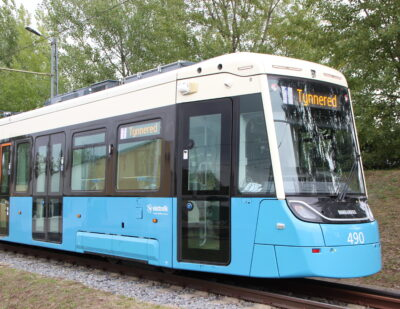 Bombardier Delivers First FLEXITY Tram to Gothenburg