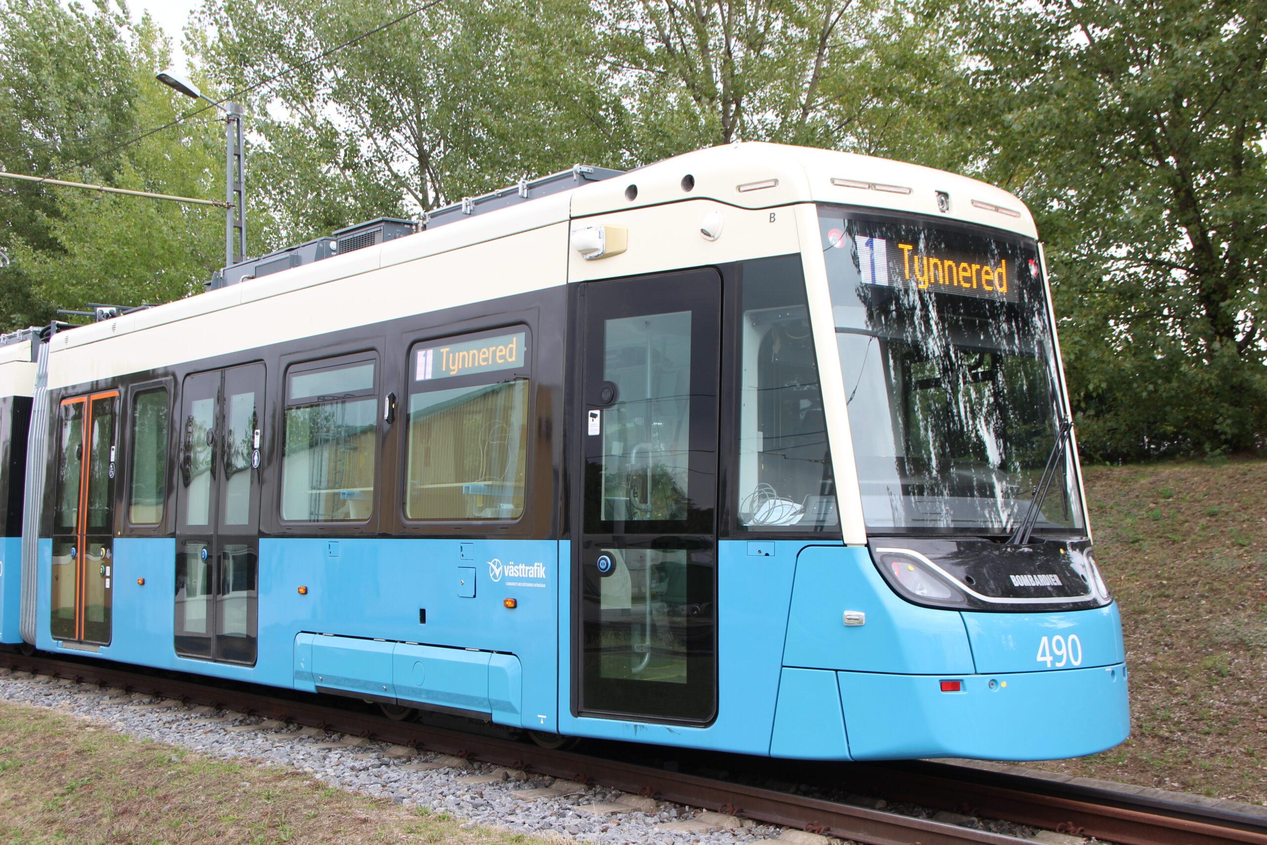 Bombardier M33 FLEXITY tram for Gothenburg