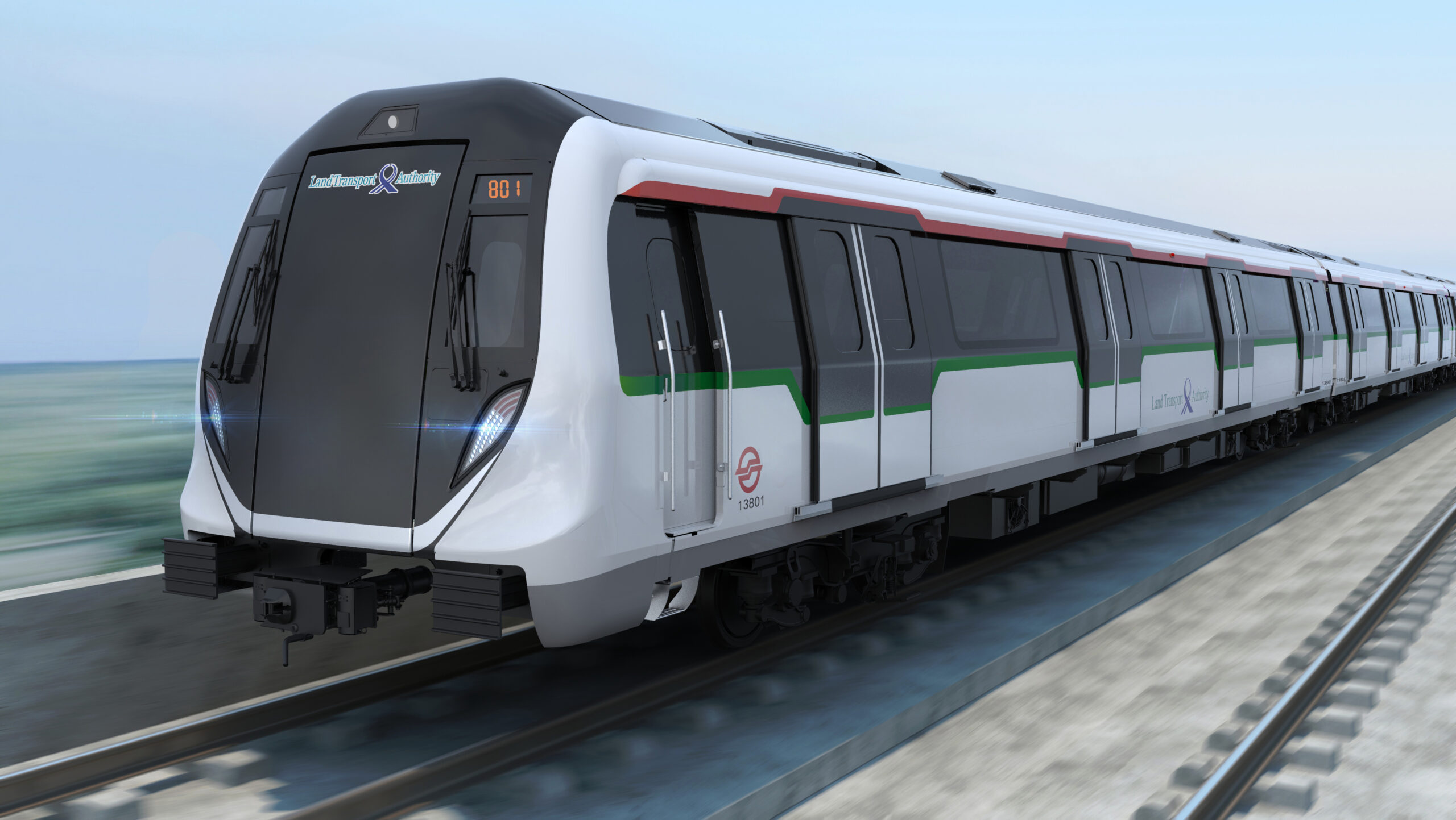 Bombardier MOVIA metro cars for Singapore's North-South and East-West Lines