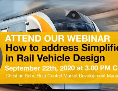 Webinar: How to Address Simplification in Rail Vehicle Design