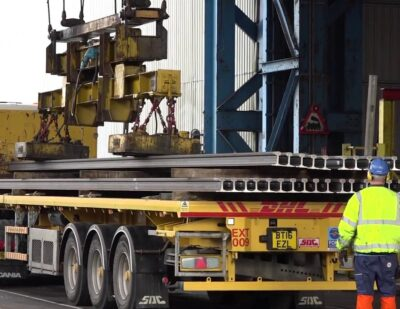 British Steel | Rail Loading