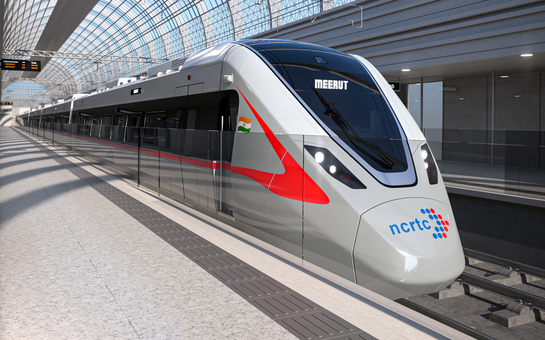 Bombardier's RRTS train for Delhi-Meerut