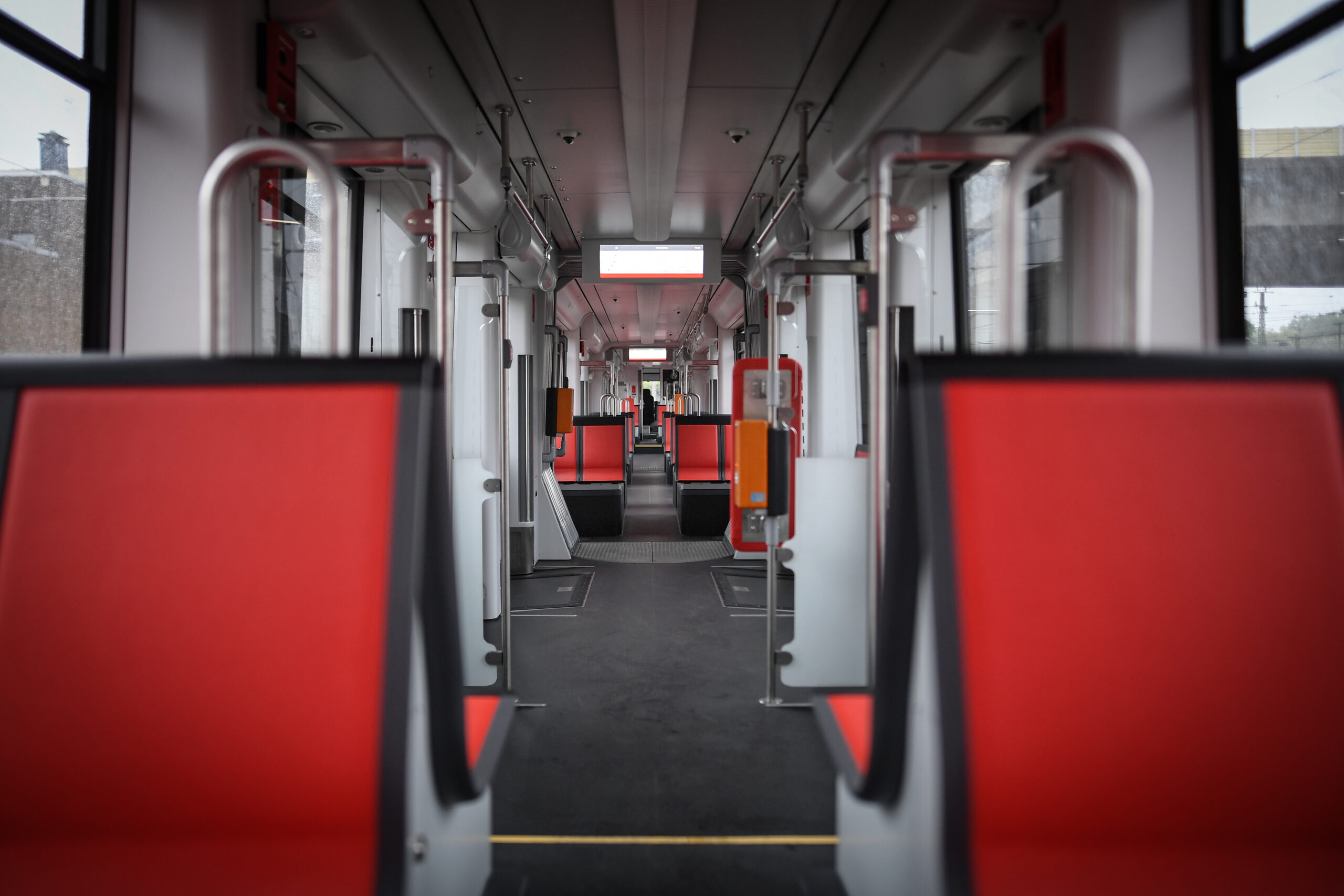 Bombardier FLEXITY tram for Duisburg, interior