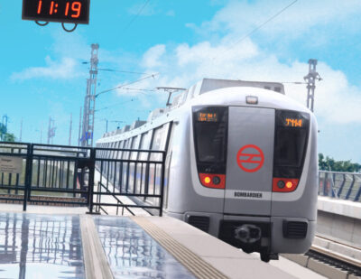 Delhi Metro Receives 800th Bombardier MOVIA Metro Car