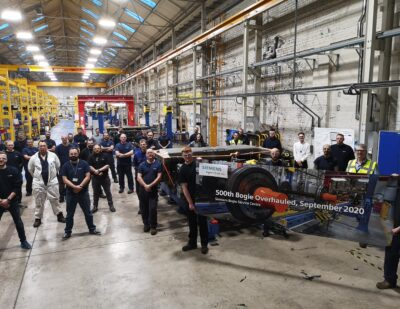 Siemens Mobility Overhauls 500th Bogie at Its Lincoln Service Centre