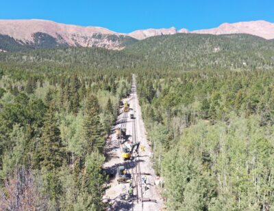 Colorado Cog Railway Renovation Reaches Halfway Milestone