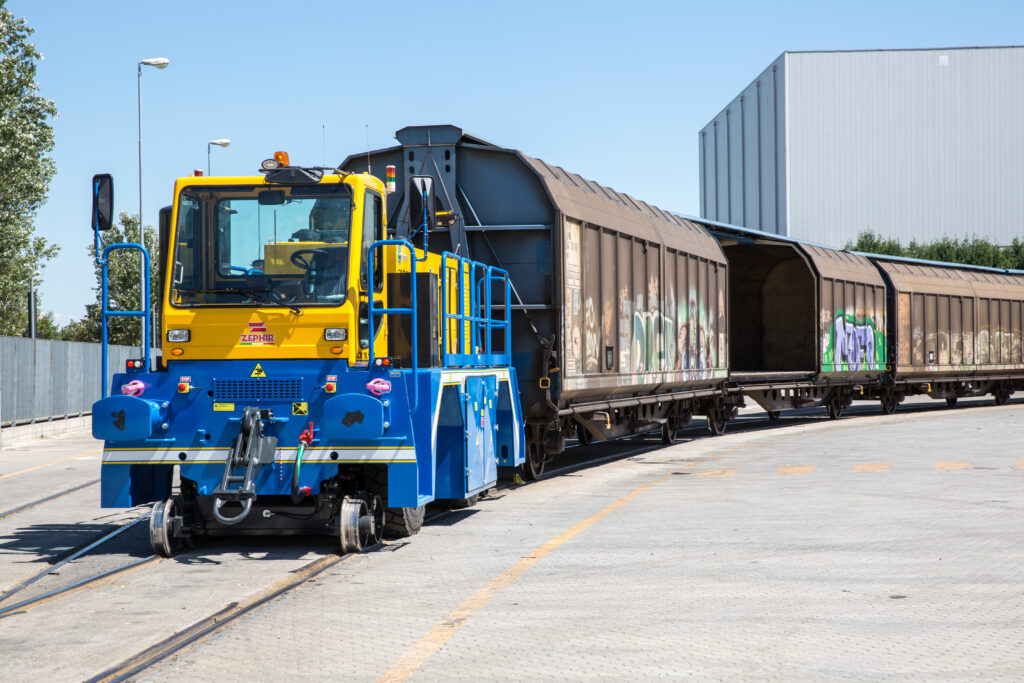 Electric Railcar Moving Machines