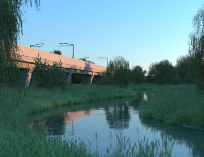 HS2 Northamptonshire Viaduct Designs Unveiled