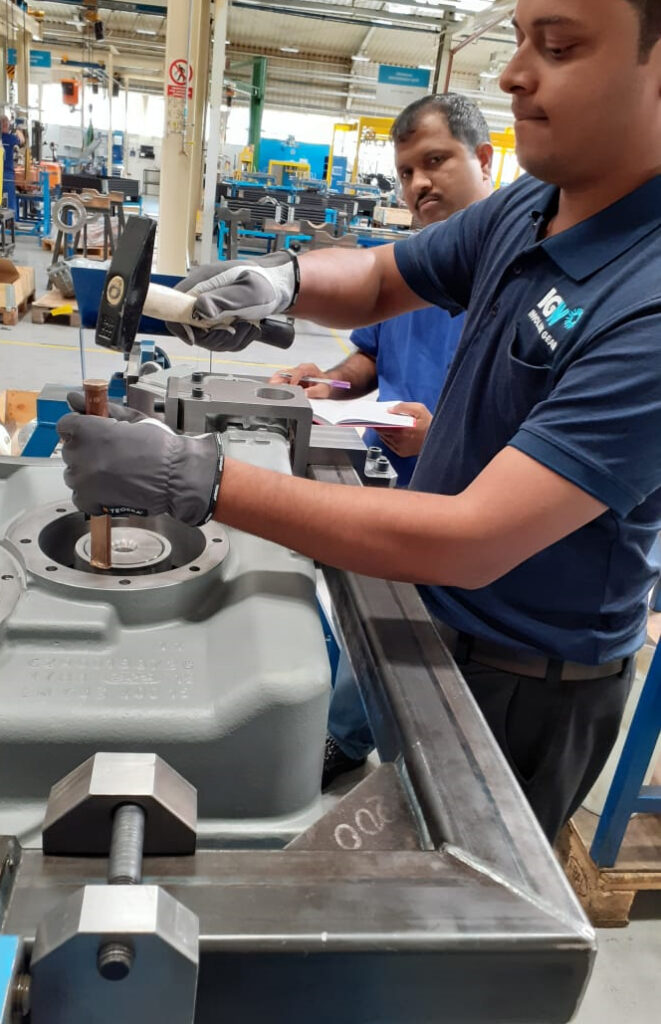 IGW Assembly Gearbox rail India