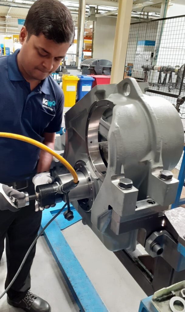 IGW - Assembly Gearbox rail India