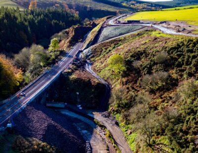 Aberdeen-Dundee Line Reopens Following Stonehaven Derailment