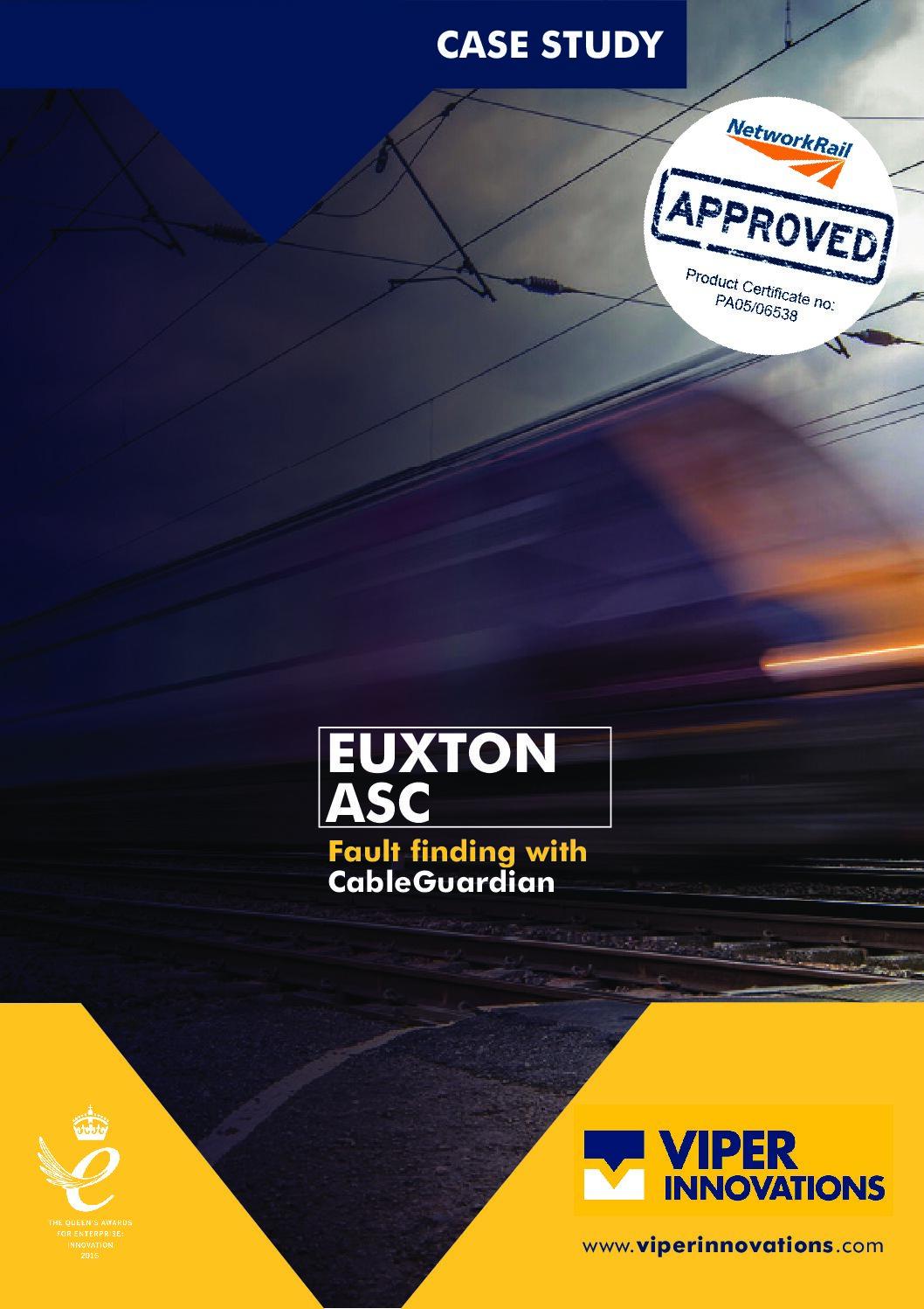CableGuardian Euxton ASC Case Study