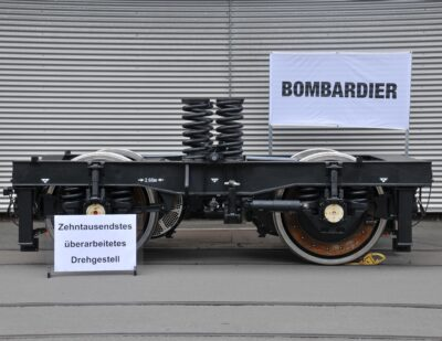 Bombardier's Siegen Site Achieves 10,000 Bogie Overhaul Milestone